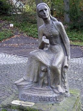 Agnes-Miegel-Denkmal in Bad Nenndorf